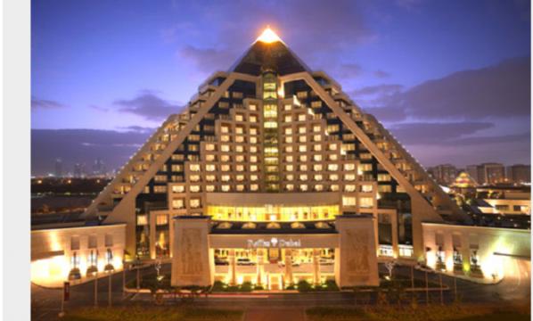 Raffles Dubai, hotel em forma de pirâmide