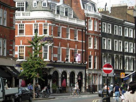O bairro de Marylebone tem muito a oferecer