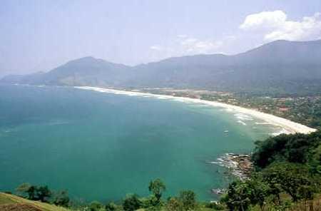 Praia de Maresias encontra-se próximo a capital paulistana