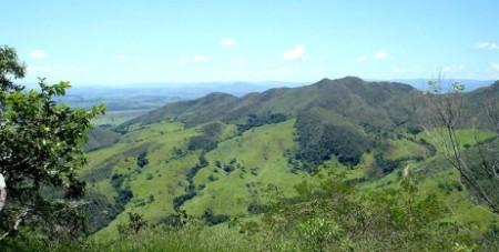 Panorama da Serra da Canastra