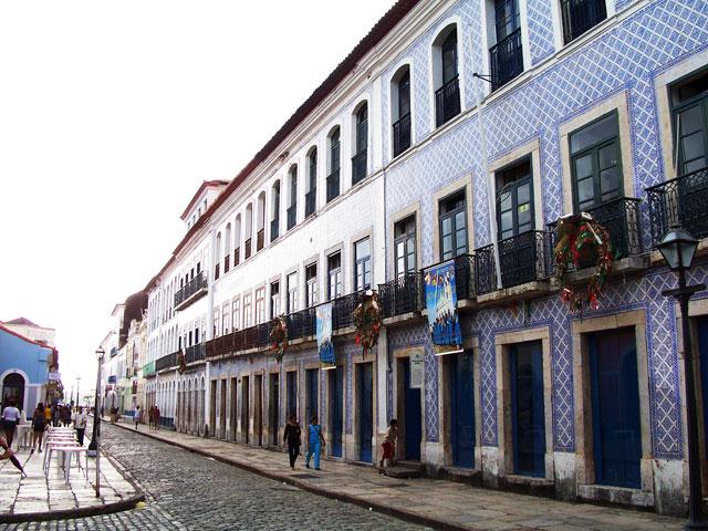 Centro histórico da São Luis do Maranhão