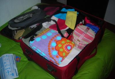 Dicas para fazer as malas