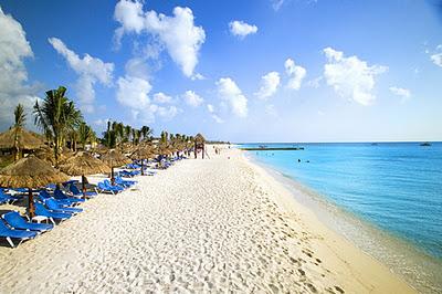 Praias da ilha de Cozumel