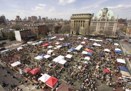 O mercado Smorgasburg em Brooklyn