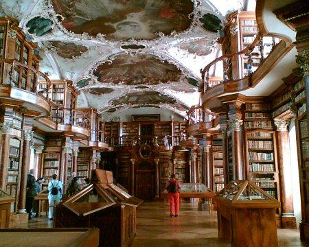 Biblioteca de St. Gallen, proximo ao Lago Constança