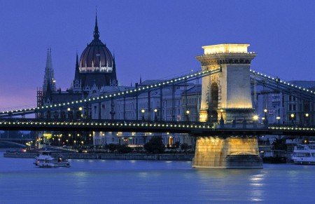 Ponte das Cadeias na Budapest