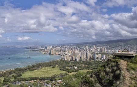 Honolulu, a maior cidade do Hawaii