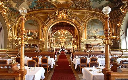 Restaurante Le Train Bleu