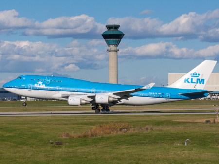 KLM linhas aereas