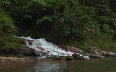 Parque Nacional da Serra do Divisor, situado no Acre