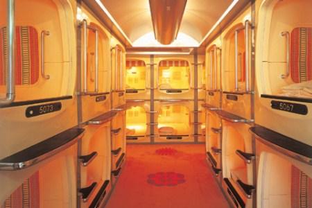 First Cabin, um hotel cabine
